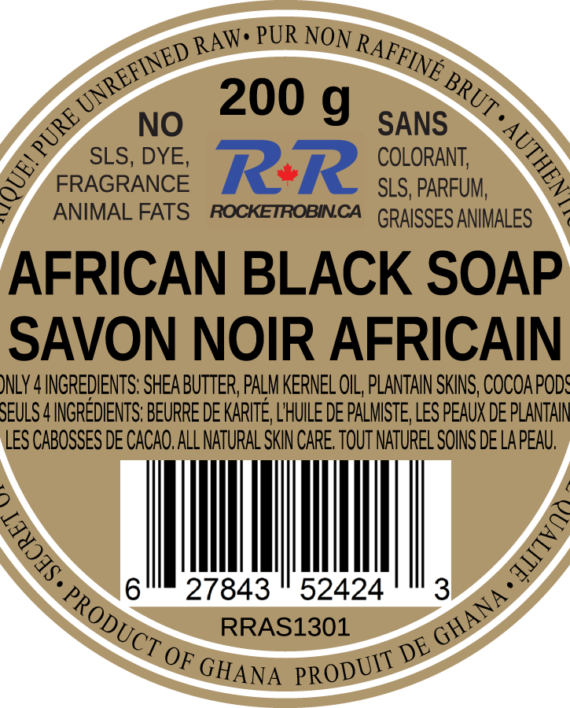 Black Soap Product Label V2