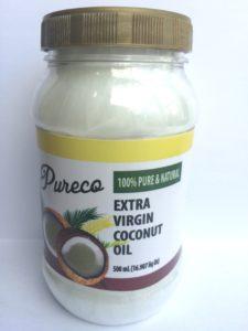 Coconut Oil extra virgin jar 1