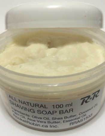 Natural Shaving Soap Bar 4