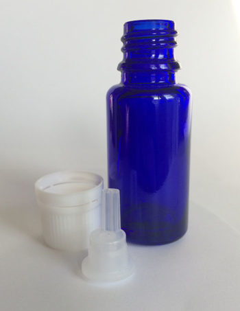 15 ml glass bottle